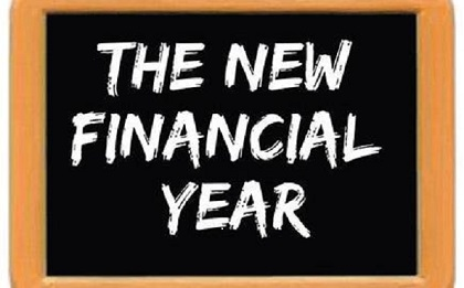 1 July 2020: Change in the new financial year